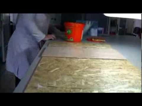 С целью улучшения физико-механических свойств двп производится проклейка древесноволокнистой массы. Для этого используется раствор.