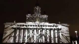 """Фестиваль """"Круг света"""" Kedr (Россия) (световое шоу/лазерное шоу) ВДНХ 2016."""