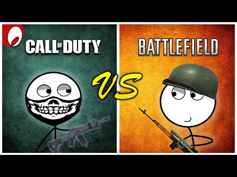 Call of Duty Gamers vs Battlefield Gamers