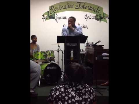Pastor David Grant 1st night