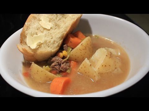 How to cook Beef soup for Two ~ Awesome ~ Easy