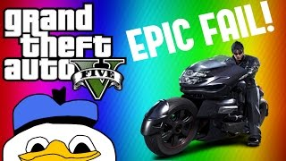 Cover images GTA 5 EPIC Bike Stunt FAIL!!!! [FUNNY REACTION]