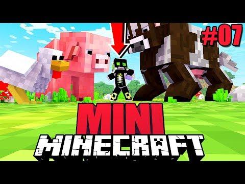 EXPERIMENTE als MINI SPIELER?! - Minecraft MINI #07 [Deutsch/HD]