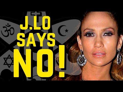 J.Lo says 'NO!' (to Scientology) ~ Talk Beliefs News