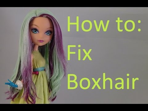 how to fix messy doll hair boilwash by eahboy youtube. Black Bedroom Furniture Sets. Home Design Ideas
