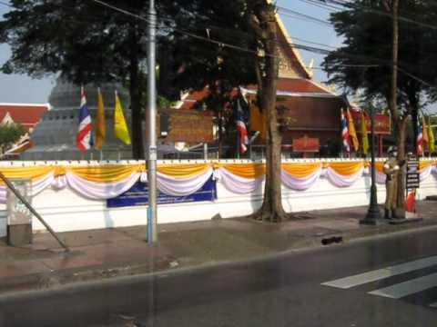 The Entrance to Khao Sarn Road, Banglampoo, Bangkok, and Samsen Road - bk ban TopOfKhaoSarnRoad