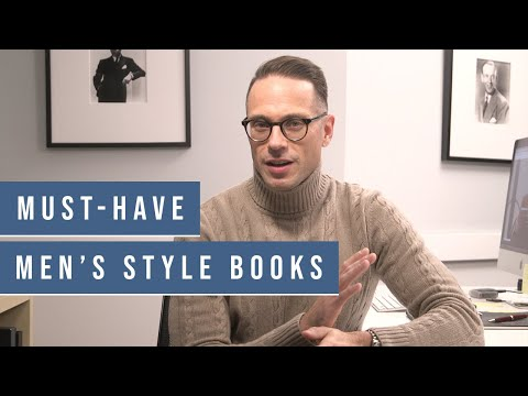 15 MUST-HAVE Men's Style Books | Best Men's Style Books