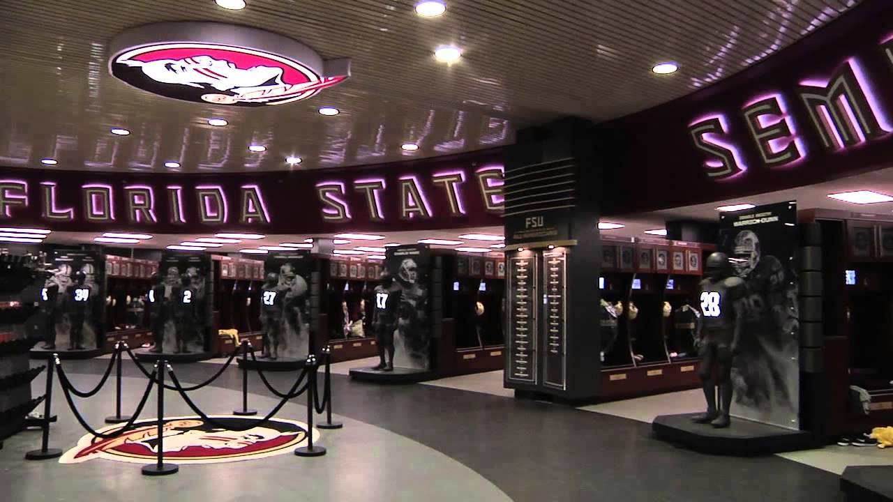 Florida State Football Locker Room