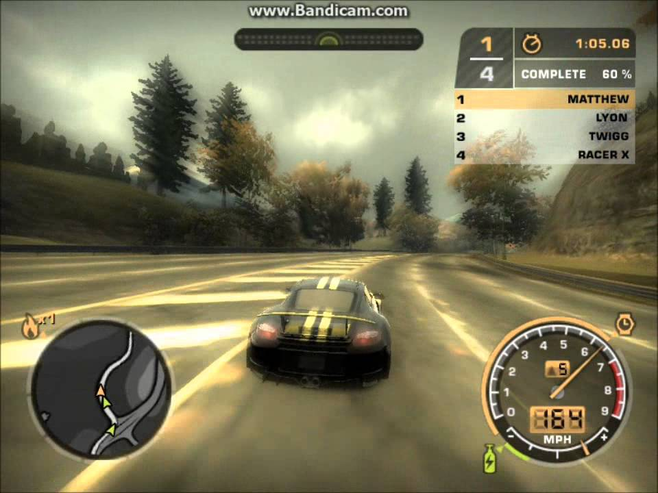 Need for speed: most wanted (2005) game demo download.