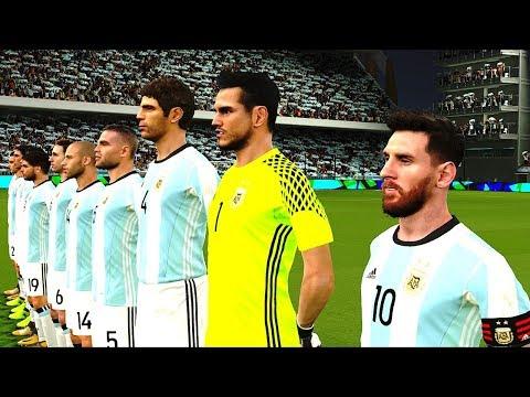 Argentina vs Ecuador 3-1 WC Qualifiers 10 October 2017