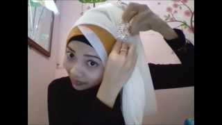 hijab tutorial untuk acara pesta pernikahan wisuda atau ulang tahun