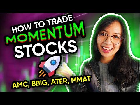 How to Trade Momentum Stocks $AMC $BBIG $MMAT $ATER trading recap
