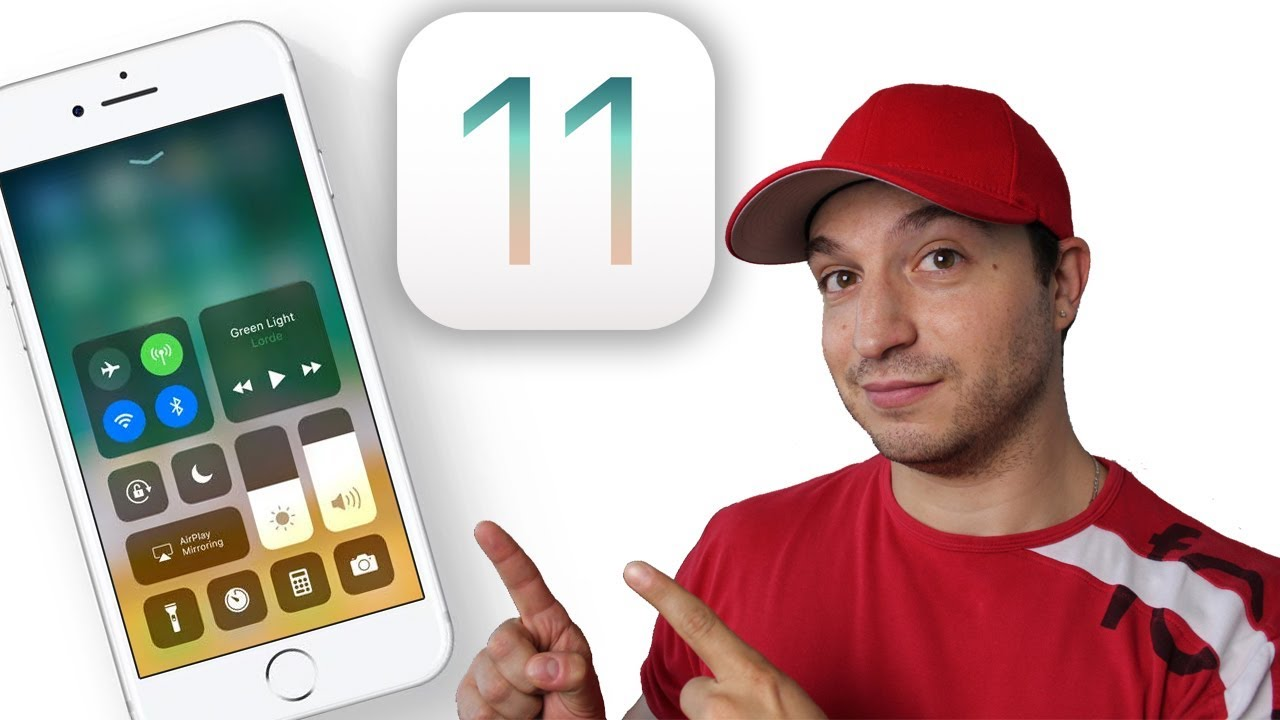 Install Ios 11 How To Update Ios 11 Iphone Ipad Ipod Touch Youtube