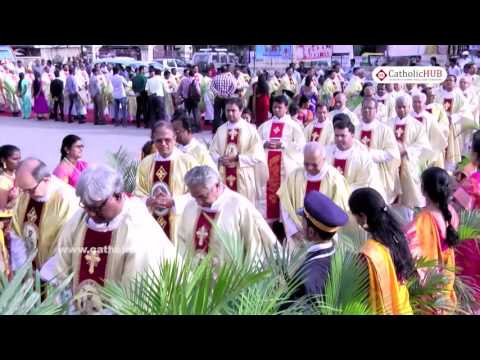 """75th Birthday celebrestion of Most.Rev.Bernard Moras""Thanksgiving Holy Mass 10-08-16.HD"