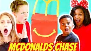 McDonald's HAPPY MEAL CHALLENGE! - Shiloh and Shasha ft SuperHeroKids - Onyx Kids