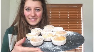 Gram Flour Cup Cakes | Gluten Free Vegan