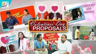 ValentinesDayLoveProposals ||LoversDay Funny Proposals||WF Originals