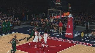 Türkçe NBA 2K19 MyCAREER #31 | KARİYER REKORU! BLOK PARTİSİ VAR! SERİNİN 4. MAÇI! Video
