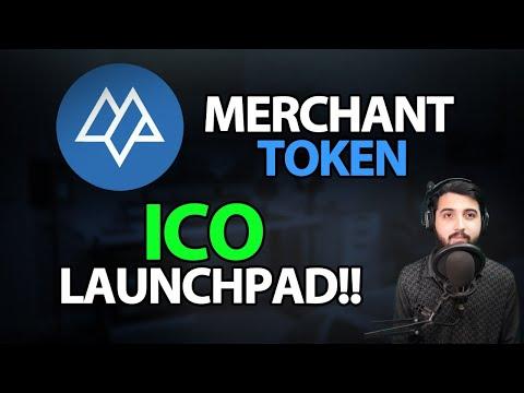 Merchant Token Ico Launchpad !!