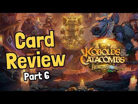 Crazy New Legendaries - Kobolds Card Review Part 6 - Hearthstone