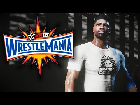 WWE 2K18 My Career Mode - Ep 34 - WWE CHAMPIONSHIP MATCH AT WRESTLEMANIA!!