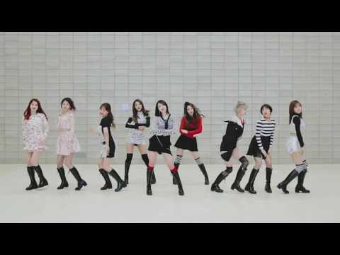 [mirrored & 50% Slowed] TWICE - KNOCK KNOCK Dance Practice Video