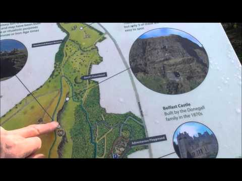 Tom's guided tour up to Cave Hill Belfast from the Hightown Rd