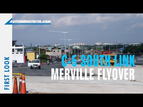 C-5 South Link with DPWH Sec. Mark Villar: The Merville flyover