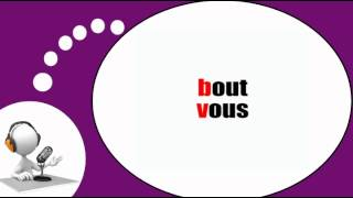 Французского видео урок = Фонетика # B V