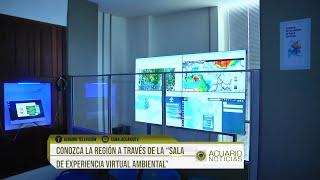 """Conozca la región a través de la """"Sala de Experiencia Virtual Ambiental"""""""