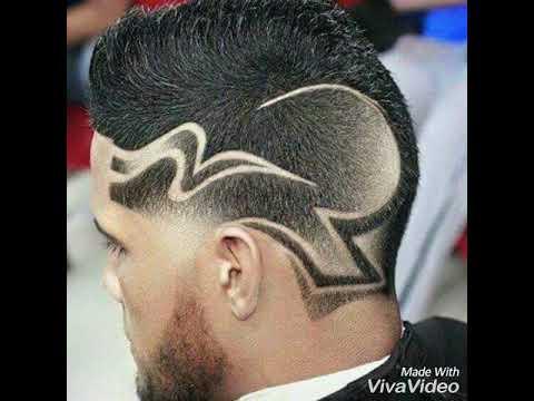Como hacer cortes de pelo con rayas