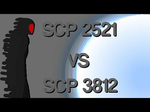 SCP 2521 Vs SCP 3812 [Stick Nodes] Animation