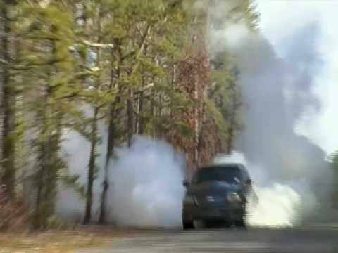 2002 Ford Harley Davidson F150 Burnout