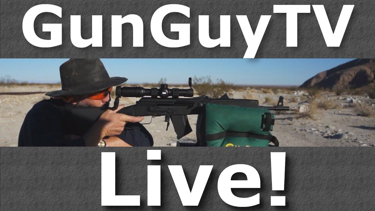 GunGuyTV Monthly Live Stream - Mar 2020