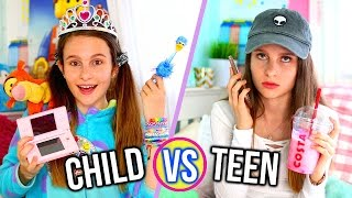 One of Lovevie's most viewed videos: CHILD VS TEEN!! Lovevie