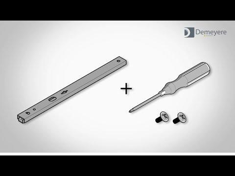 Montage De Tiroir Avec Coulisses à Billes Youtube