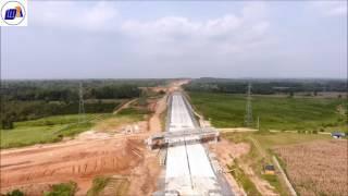 Proyek Jalan Tol Trans Sumatera  Lampung II ( Kota Baru )  Juni 2017 PT.LMA