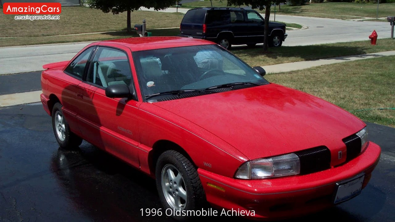1996 oldsmobile achieva youtube youtube