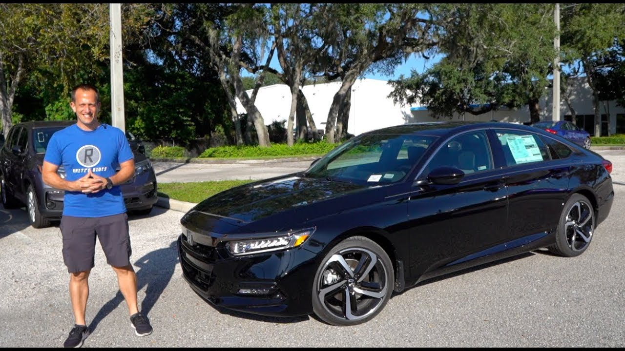Is The 2020 Honda Accord 2 0t Sport The Best Midsize Car You Can Buy Youtube