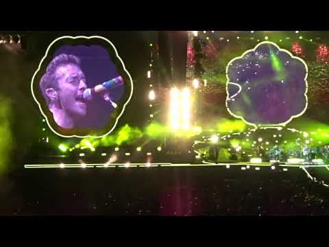 Coldplay -  A Head Full Of Dreams /Yellow /Every Teardrop Is A Waterfall /The Scientist - Rose Bowl