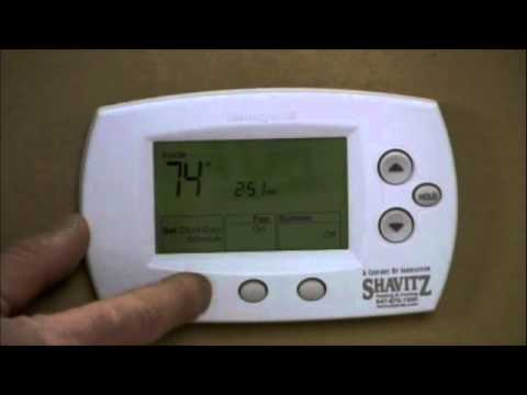 honeywell rth9580wf youtube labled diagram of the lungs air heater facias thermostat 5000 and 6000 programming