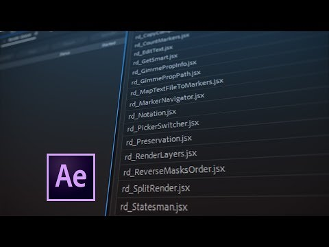 22 Free After Effects Scripts - Part 2 of 2
