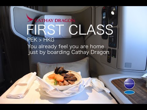 You already feel you are home just by boarding Cathay Dragon