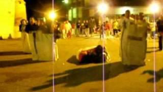 carrera de sacas 2011 fiestas santiuste de san jb