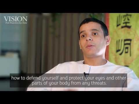 Watch! Wushu martial arts Master from China in Dubai