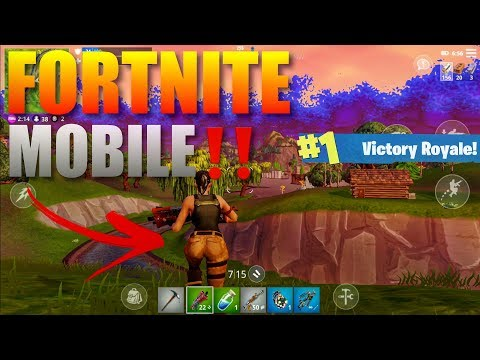 Fortnite Mobile‼️ Gameplay Ultra Graphics 1080p 60Fps (Downl