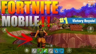 Fortnite Mobile‼️ Gameplay Ultra Graphics 1080p 60Fps (Download Link in Description)