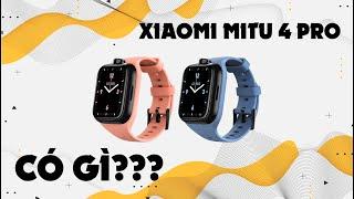 Đồng hồ thông minh trẻ em tốt nhất thế giới năm 2021 - Xiaomi Mitu 4 Pro