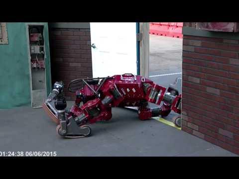 CHIMP Robot Falls Down, Gets Up at DARPA Robotics Challenge