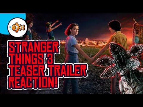 STRANGER THINGS 3 Teaser Trailer Reaction! Date Announcement!